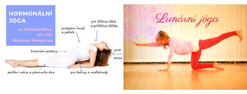 Jaký je rozdíl mezi Lunární a Hormonální jógou?